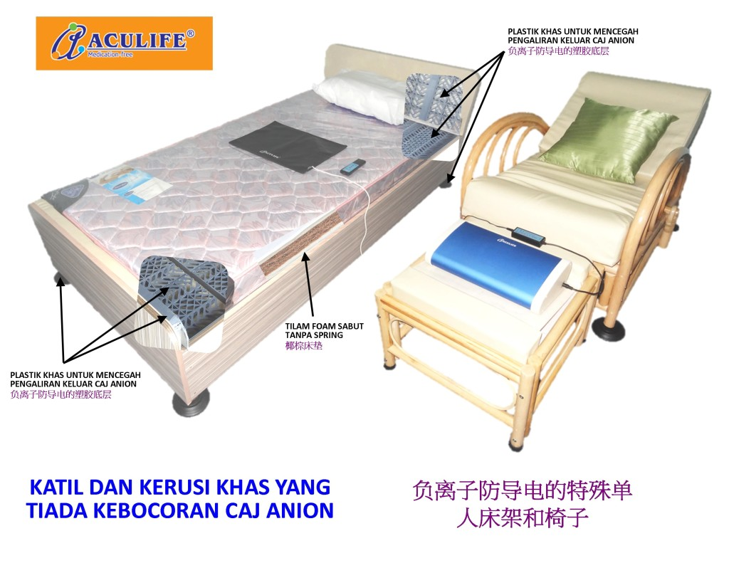 Anion Charge Bed